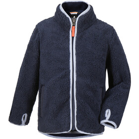 DIDRIKSONS Lo Pile Jacket Kids, navy
